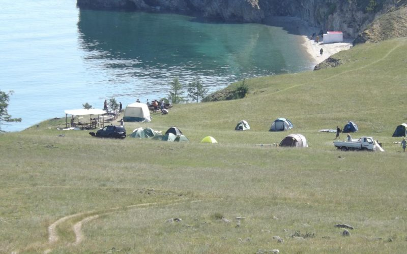 Лагерь на Байкале