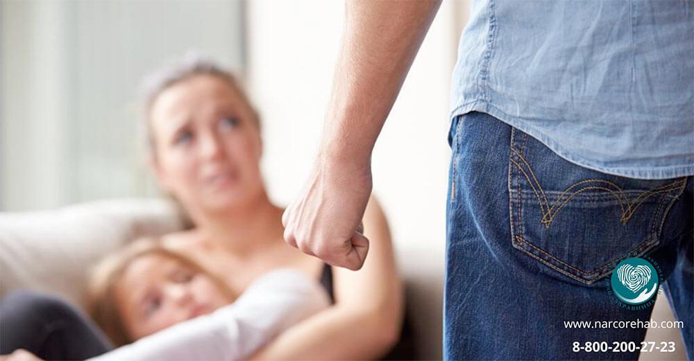Всплеск домашнего насилия в семьях зависимых