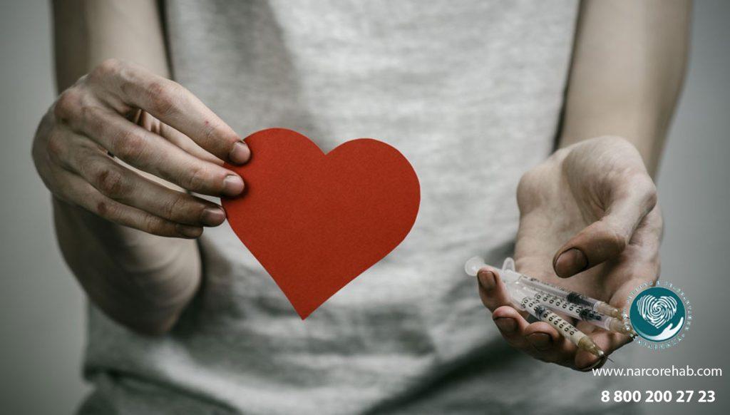 Влияние наркотиков на сердце