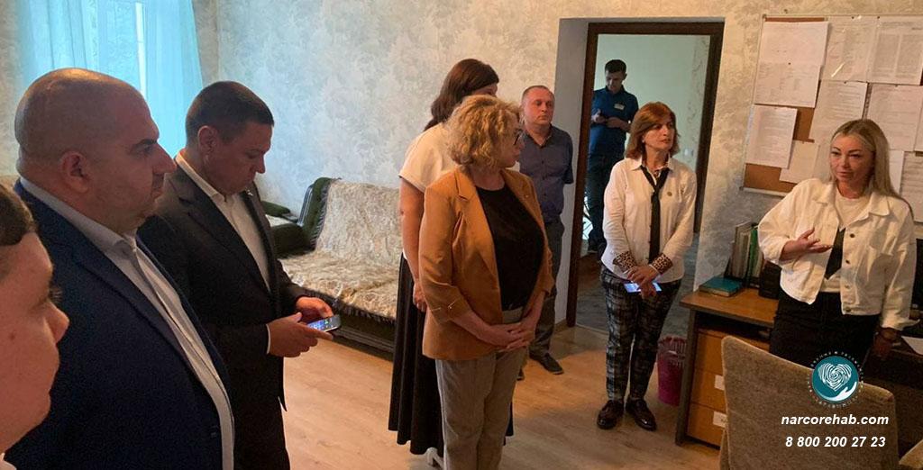 Депутаты в центре Здравница